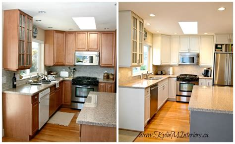 kitchen cabinets painted before and after paint kitchen cabinets before and after desjar interior
