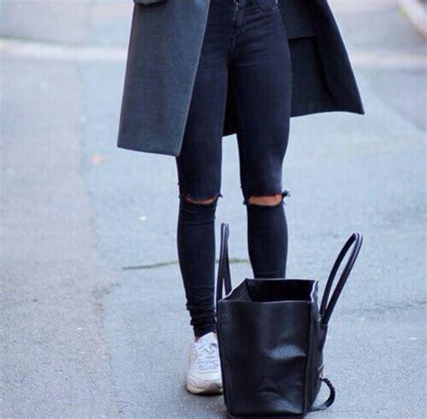 Jegging Comfy black denim jacket denim vogue black