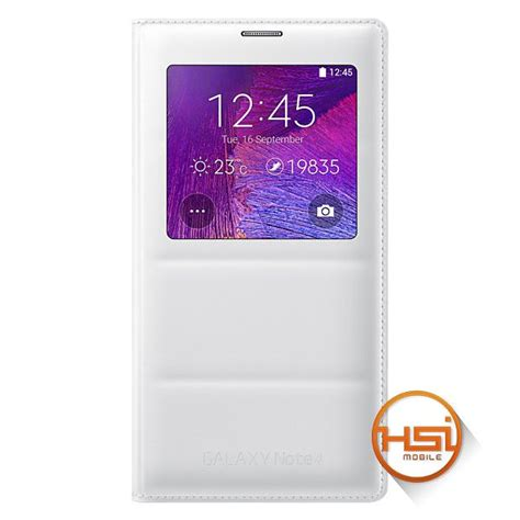 Flip Cover View Samsung Note 4 flip cover samsung original s view galaxy note 4 hsi mobile