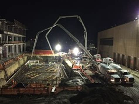 Proton Therapy Florida by Concrete Pour Underway At Proton Therapy Center In