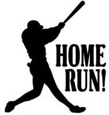 home run clip clipart best
