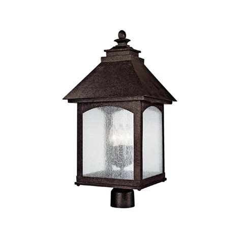 Lodge Light Fixtures Capital Lighting 9056ri Lodge Traditional Outdoor Post Lantern Light Cp 9056 Ri