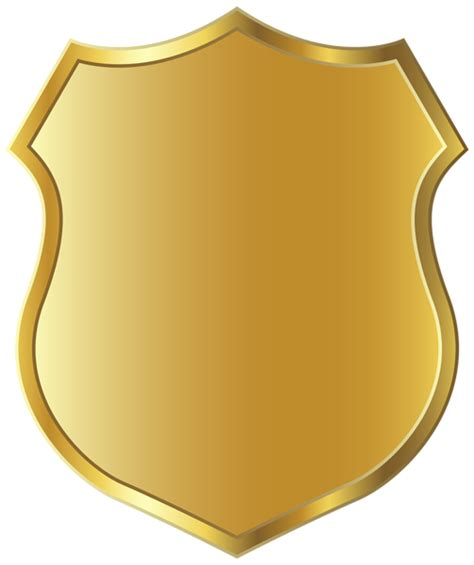 templates for badges golden badge template clipart png picture boardes