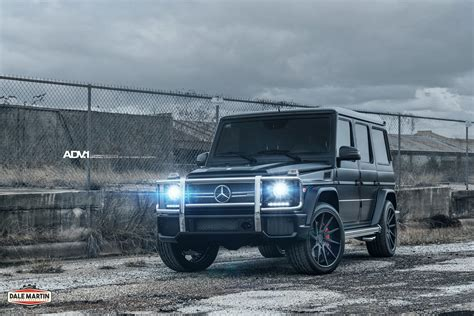 mercedes g wagon blacked out black mercedes benz g63 amg adv10r deep concave cs