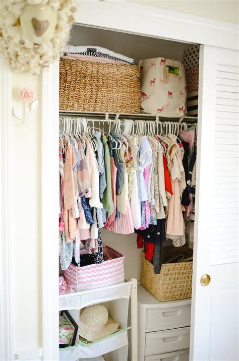 Childs Closet by How To Organize Your Child S Closet Lynzy Co