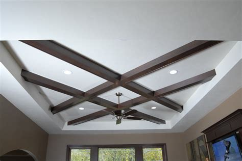 Modern Coffered Ceiling Unique Coffered Ceiling Contemporary Living Room
