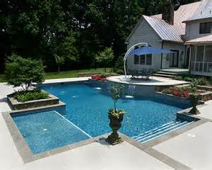 Tanning Chair Outdoor Design Ideas Rectangle Wader Tanning Ledge This Pool Features A Elite P Flickr