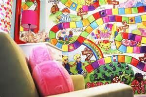 Candyland Wall Mural Candyland Nursery Theme Kids Room Pinterest