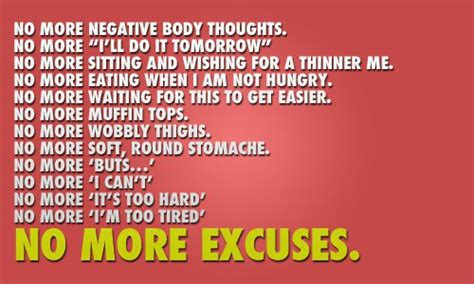 Diet Excusesdo You Fit In by 10 Motivational Quotes With Images For A Healthier Lifestyle