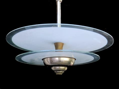 artistic lighting french art deco hanging light ceiling ufo 353132