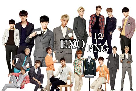 exo wallpaper pack exo png pack ivy club 2014 part 5 by kamjong kai on
