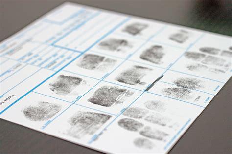 Live Scan Form Personal Background Check Fbi Inked Fingerprints Fnl Fingerprints Notary