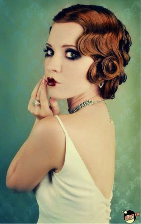 hairstyle from 20s roaring twenties hairstyles for copacetic couture moda