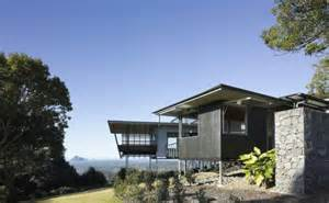 house design blogs australia glass house mountain house in australia by bark design