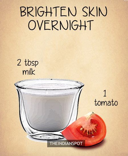 diy overnight masks for clear healthy and glowing
