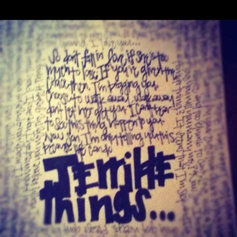 terrible things mayday parade terrible things mayday parade quotes quotesgram