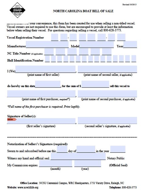 pa boat registration agents free north carolina boat bill of sale form pdf word doc