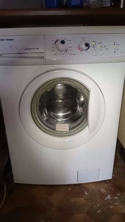 tricity bendix essential washing machine kg  spin