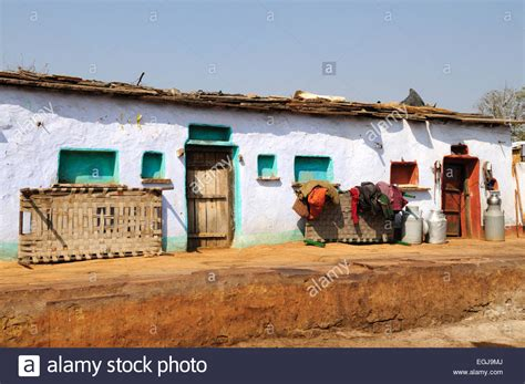 buy houses in india typical houses in an indian tribal village kalpi rajasthan india stock photo royalty