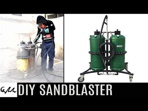 tacoma company blast cabinet upgrade diy sandblaster