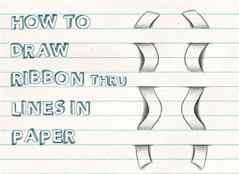 Cool And Easy Things To Draw On Paper Step By Step by Notebook Lines Archives How To Draw Step By Step Drawing