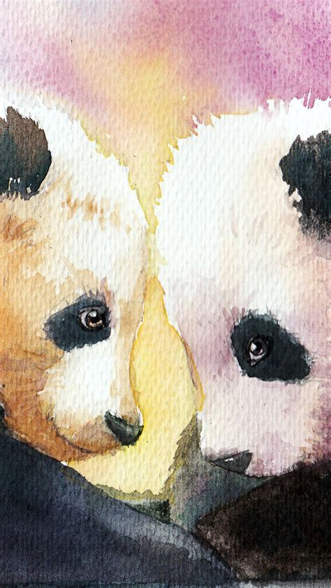 cute panda background  pictures