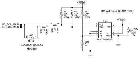 resistor value dnp ar 39258 sp605 hardware user guide iic memory shown has incorrect resistor values