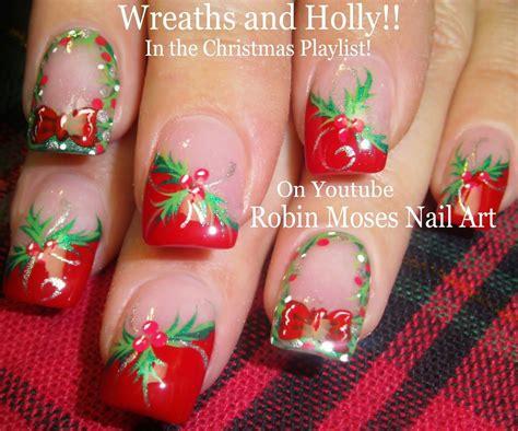christmas robin nails robin moses nail quot nails quot quot nails quot quot nail quot quot wreath