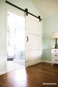 How To Make A Rolling Barn Door 35 Diy Barn Doors Rolling Door Hardware Ideas Remodelaholic Bloglovin
