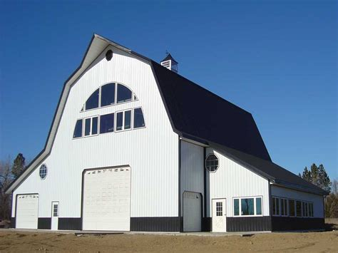barn style roof diy gambrel pole barn designs plans free
