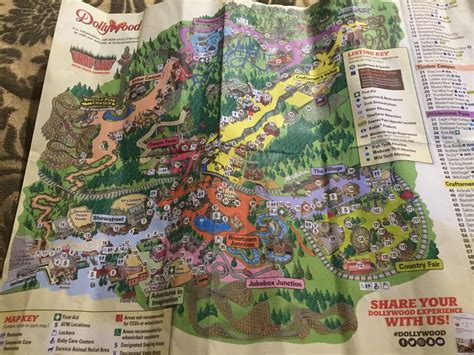 dollywood map the map of dollywood tennessee by xxradioyellowbunnyxx on deviantart