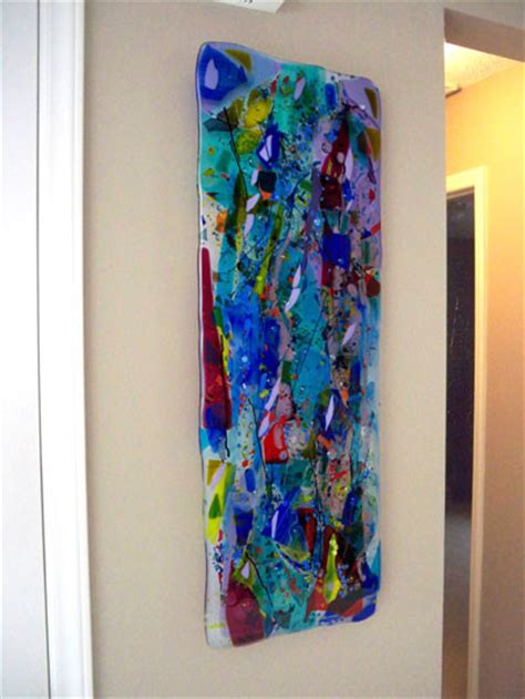modern glass wall decor glass wall panels
