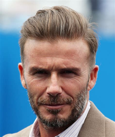 David Beckham Hairstyles in 2018