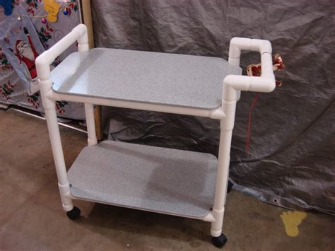 diy pvc projects pvc utility cart weather create and craft