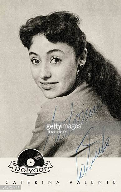 caterina valente singer caterina valente stock photos and pictures getty images