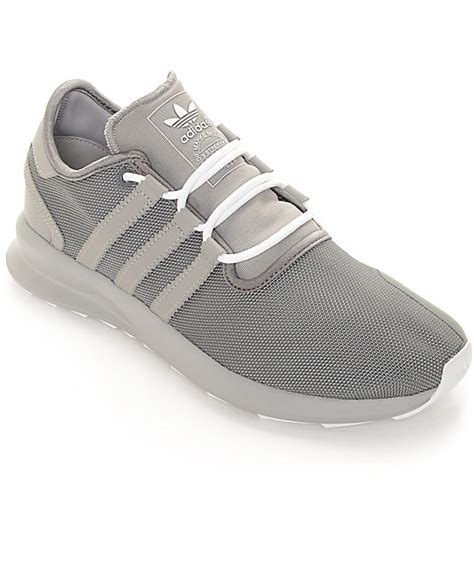 adidas sl rise grey white shoes
