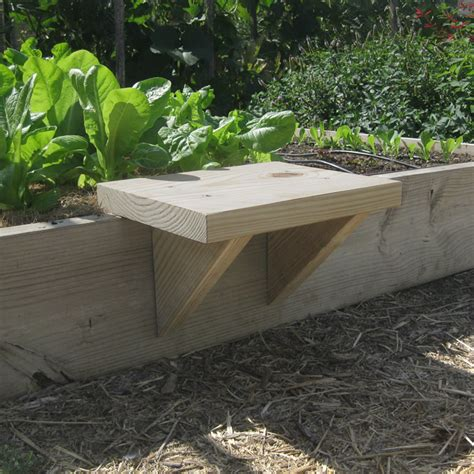 diy raised bed vegetable garden diy raised bed seat vegetable gardener