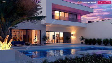 proyecto de casa proyectos de casas casa moderna con piscina