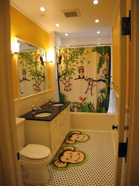 田园风格三室二厅创意儿童卫生间镜子干湿分区装修效果图 设计本装修效果图