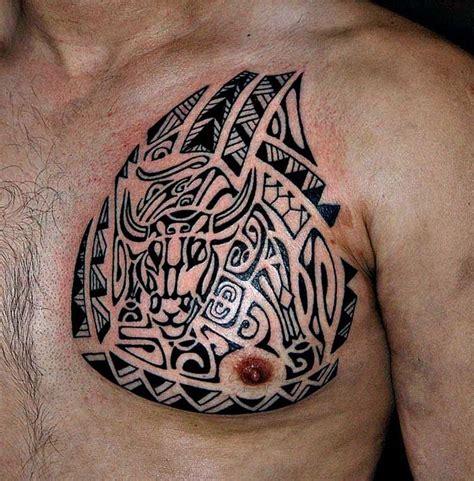 poly tribal tattoo poly tribal bull polynesian tribal tattoos