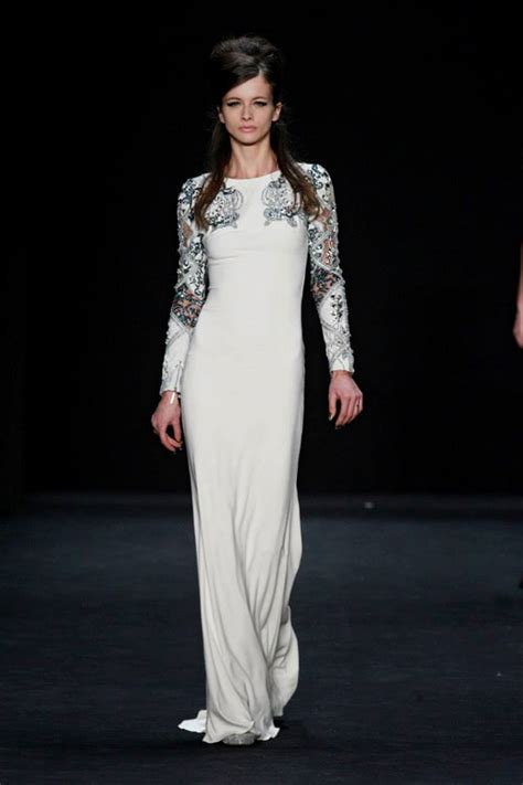 Badgley Mishka Fallwinter 2007 by Badgley Mischka Fall Winter 2015 2016 Collection At Mbfw