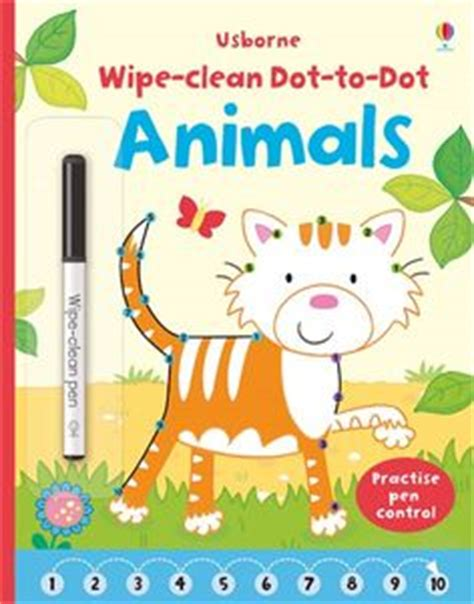 Animal Learn To Write Wipe Clean Activity Book 1000 images about wipe clean books from usborne books on