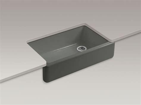 kohler self trimming apron sink standard plumbing supply product kohler k 6489 58