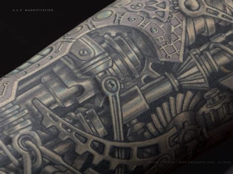 biomechanical motor tattoo 45 awesome biomechanical tattoos inkdoneright