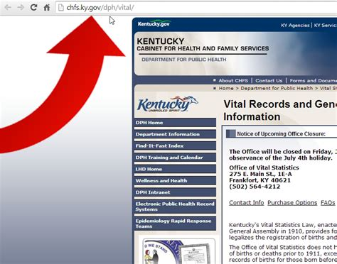 State Of Kentucky Birth Records How To Obtain A Copy Of Your Birth Certificate In Kentucky