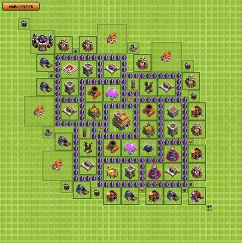 layout para centro da vila 6 lamento da vi 250 va dicas clash of clans layout centro