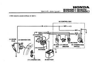 honda gx340 starter wiring diagram get free image about wiring diagram