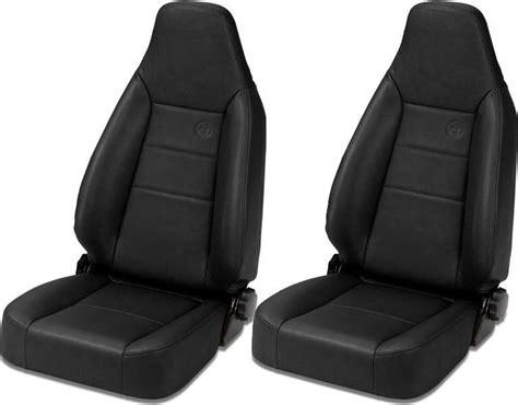 bestop jeep tj seats bestop trailmax ii sport front seats for 76 06 jeep cj 5