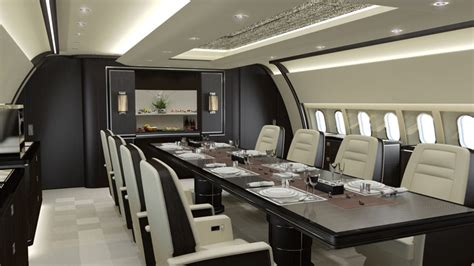 Top 10 Best High End Business & Private Jet Interior Designers in the World