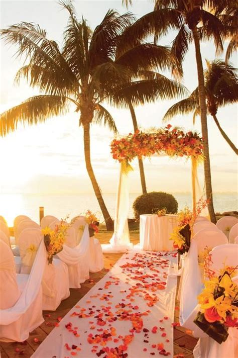 wedding on a island overlooking miami aromabotanical tropical vacations spots